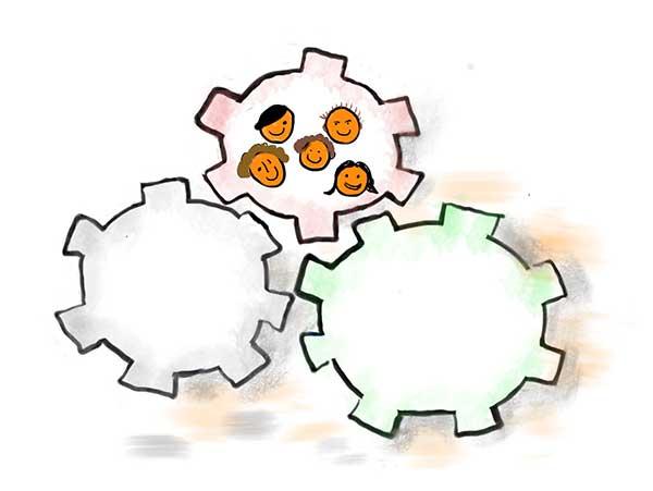 Teambuilding und Teamentwicklung